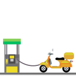 fuel scooter